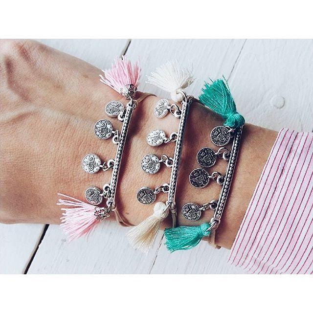 •NEW•#ohsocutethings #handmade #jewelry #greekdesigners #greekdesigner #madeingreece #fashion #fashionista #fashionjewelry #fashiongram #happy #accessories #love #cute #jewelrygram #bracelet #styles #photooftoday #ootd #wearthistoday #instadaily #sun #summer #boho #bohemian #tassels #instajewelry #sand #beachvibes #summertime