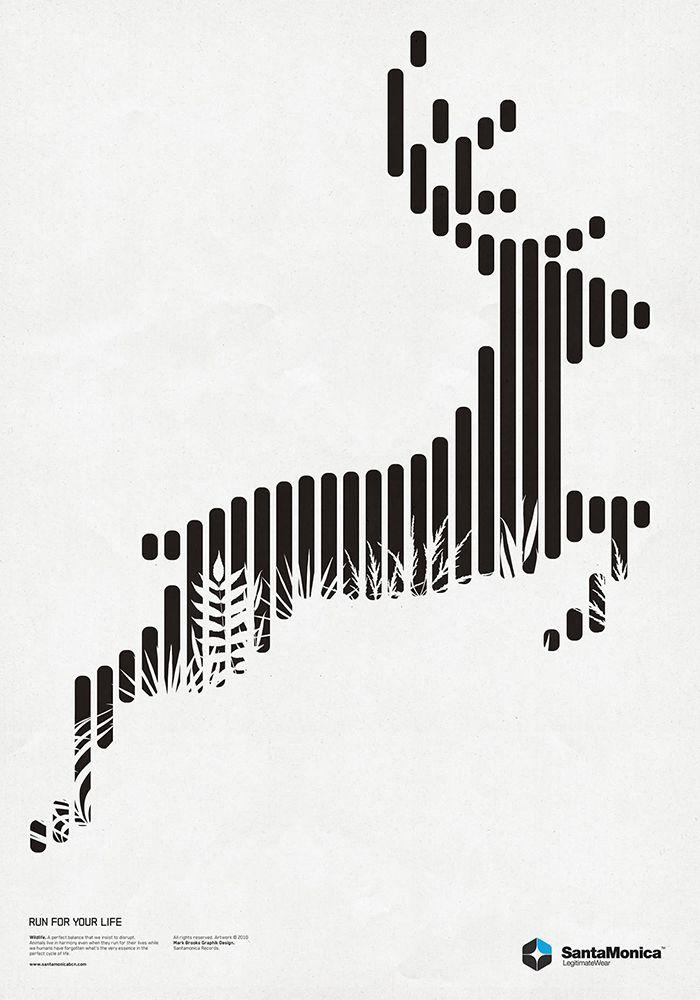 Ley de continuidad: Aunque la imagen no este completamente cerrada, el observador crea líneas imaginarias que completan el contorno de la imagen.