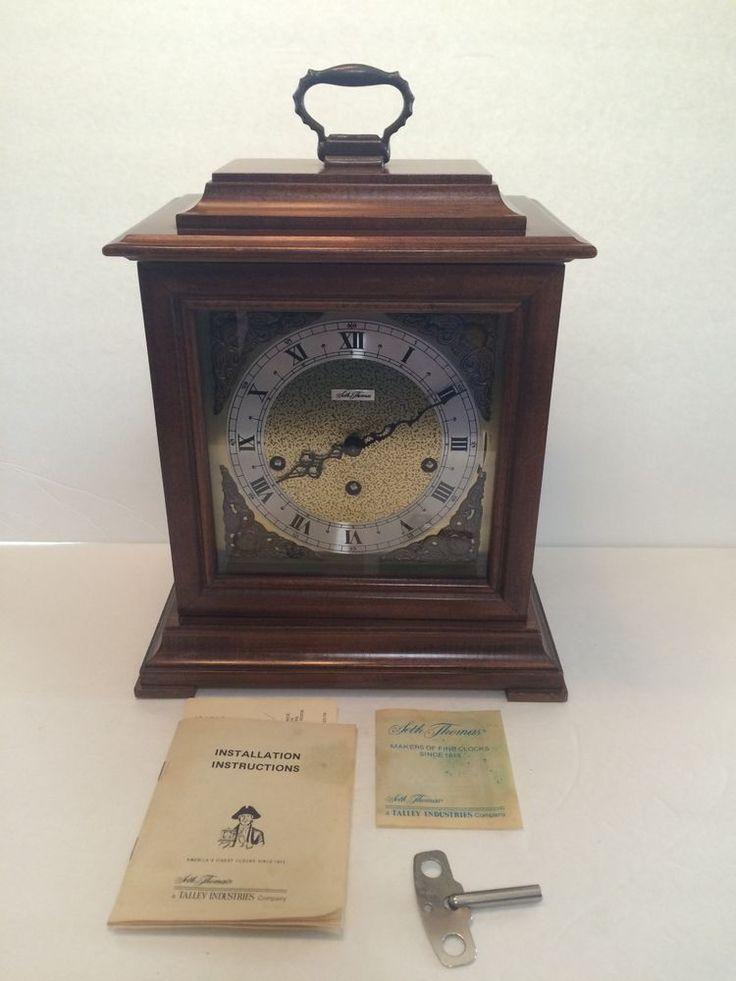 Seth Thomas Mantel Clock Repair Manual