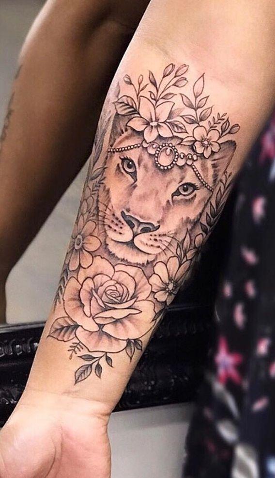 70 tatuagens femininas e masculinas de leão | Tatuagem – Tatoo – #femininas #le…