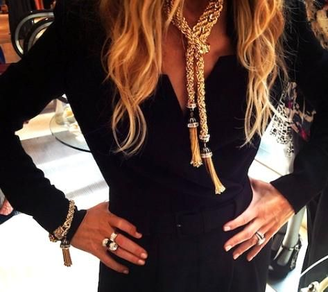 Tassel necklace rachel zoe dresses