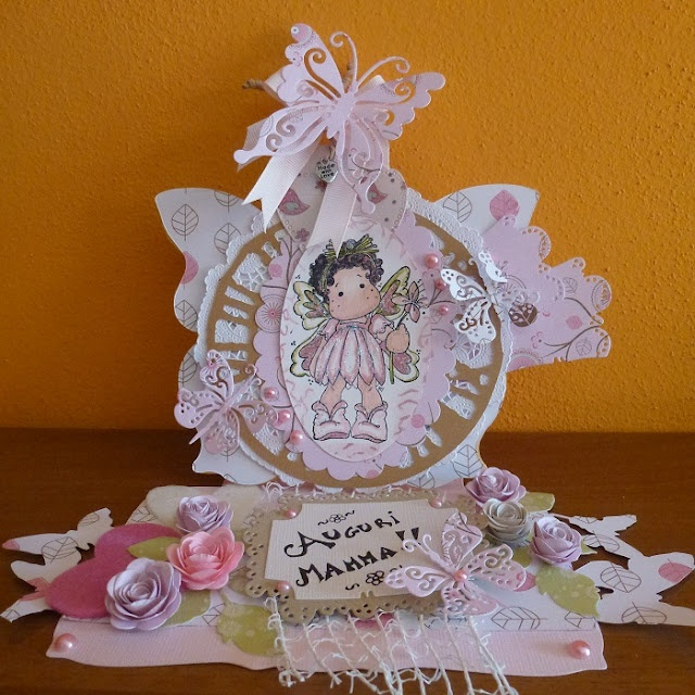 Timbroscrapmania Stamping Challenge #47 - Mother's Day