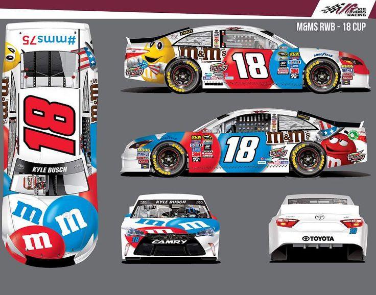 Jayski's® NASCAR Silly Season Site - 2016 NASCAR Sprint Cup Series #18 Paint Schemes