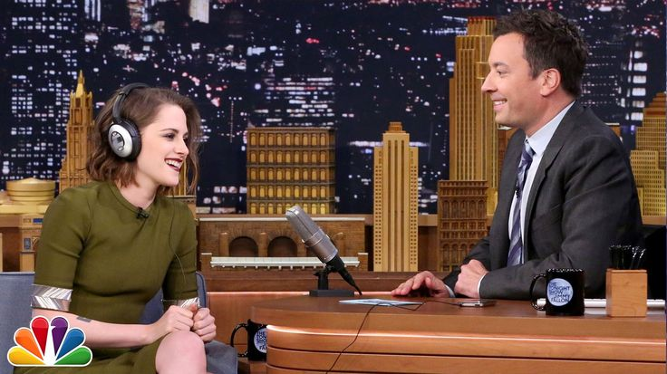 Jimmy and Kristen Stewart take turns guessing random names and phrases while wearing noise-canceling headphones. Subscribe NOW to The Tonight Show Starring J...