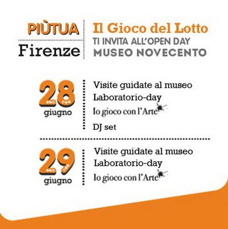 Open Day 28 e 29 giugno al Museo Novecento Firenze