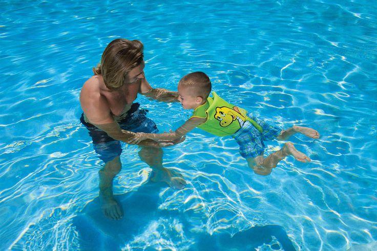 Poolmaster Dino kids Swimming Inflatable Life Jacket Trainer Vest 1-3 Years Old #Poolmaster
