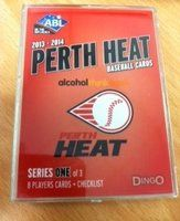 2013-14 Perth Heat Baseball Cards. Brought to you by Dingo International  this is set 1 of 3.