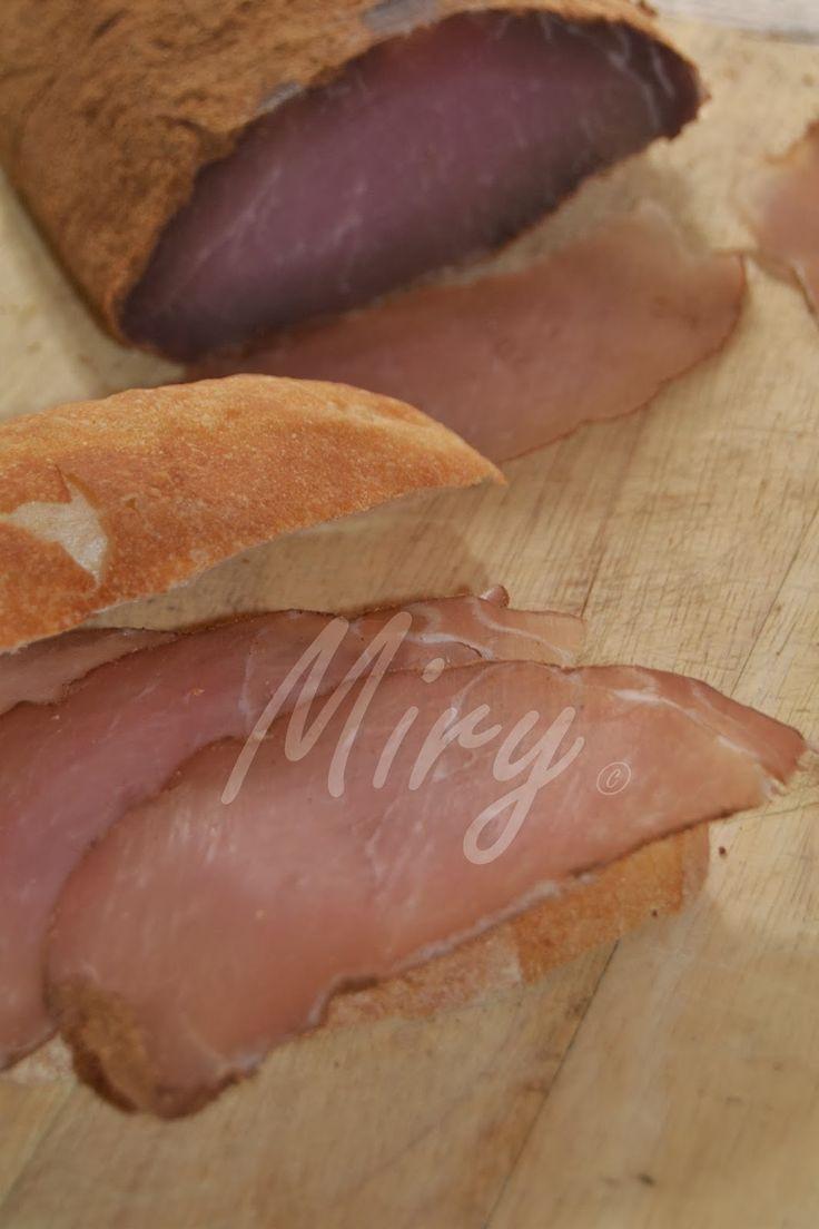 Cucina e altre passioni...: I salumi fatti in casa: la mia Musteba o lonza!!!