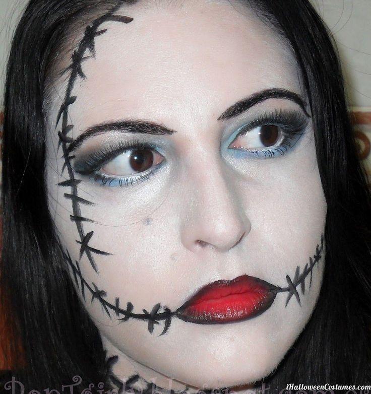 Creepy Doll Halloween Makeup - Halloween Costumes 2013