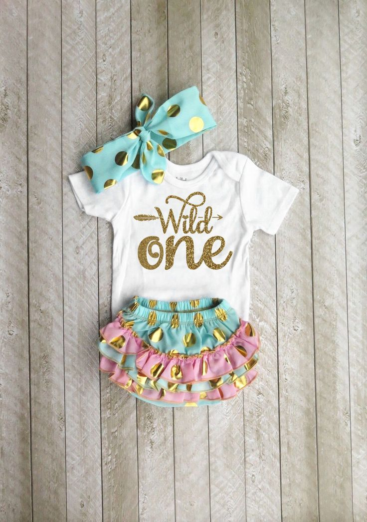 Wild one Wild one first birthday Mint and gold first birthday outfit One year old outfit Girl first birthday outfit First birthday outfit by SweetPeaCharlies on Etsy https://www.etsy.com/listing/475405771/wild-one-wild-one-first-birthday-mint