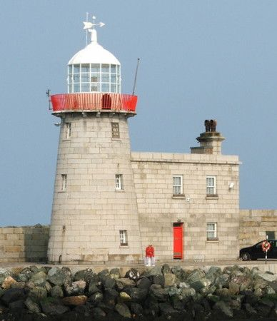 1818 Howth Harbour Light, Dublin, Ireland