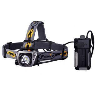 Profesionálna čelovka Fenix HP30 s vynikajúcim výkonom až 900 lumenov a s veľkokapacitným externým zdrojom energie pripínateľným na opasok alebo na inom mieste. Čelovka Fenix HP30 Vás nesklame pri žiadnej outdoorovej aktivite, od turistiky, cez beh a cyklistiku až po horolezectvo, či jaskyniarstvo.