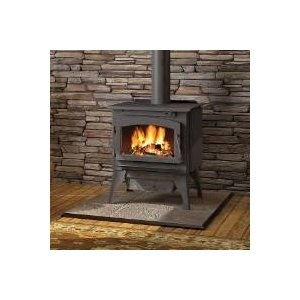 Wood Burning Stove - Napoleon 2200 Timberwolf Economizer EPA Medium Wood Burning Stove with Black Door - $702.00