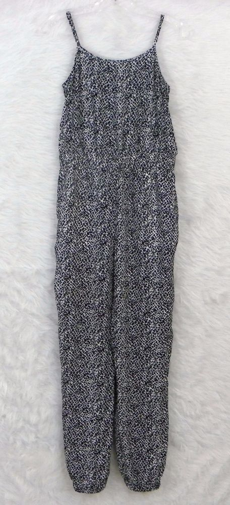 Womens BANANA REPUBLIC Heritage Collection Animal Print One Piece Jumpsuit SZ 2 #BananaRepublicHeritageCollection #Jumpsuit
