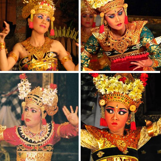 We interpreted many of these legong dancers on our girls graphic tees.