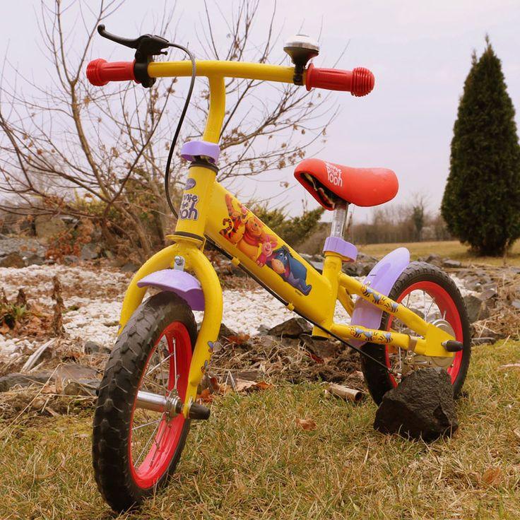 Bicicleta copii Winnie the Pooh galbena Yakari