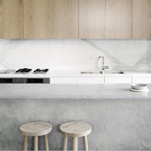 pinned by barefootblogin.com Love this kitchen in a South Yarra residence by Nixon Tulloch Fortey Architecture.