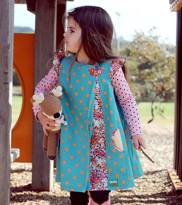 Machiko - a boutique for kids - Oishi-m   In The Songs Dress , $69.95 (http://www.machikobaby.com.au/products/oishi-m-in-the-songs-dress.html)