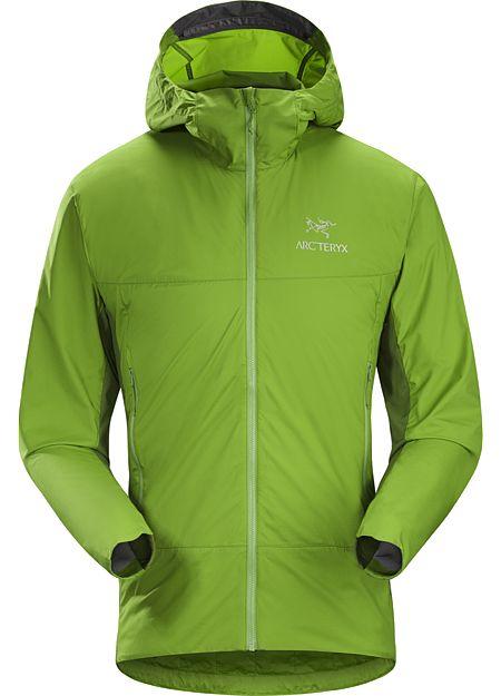 Veste à capuche Atom SL Homme Veste à capuche compacte avec une légère isolation en Coreloft™ et des panneaux latéraux perméables à l'air.