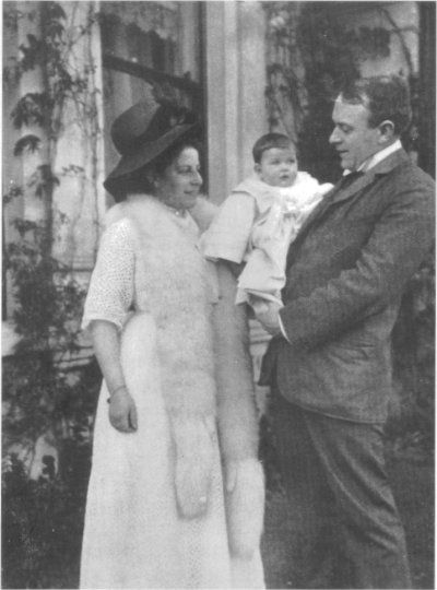 Thomas Andrews and his family.