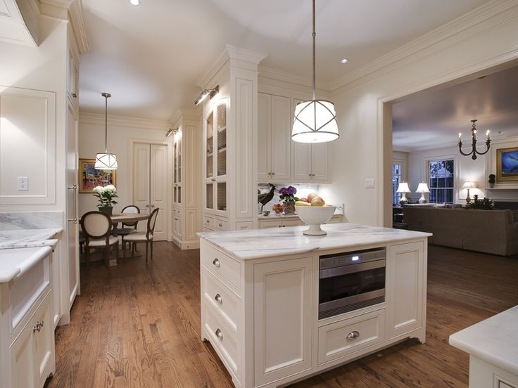Recently Remodeled The Kitchen Stands Between Spacious Family Room With A Fireplace And Casual Breakfast Elegant Dining Is Connected