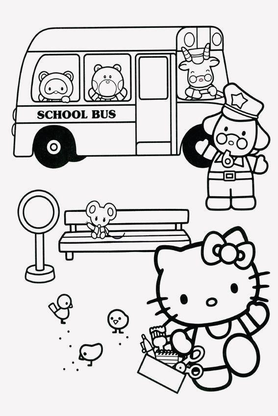 15 Hello Kitty Colouring Sheets Printable Hello Kitty Colouring Pages Hello Kitty Coloring Kitty Coloring