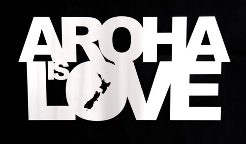Aroha is theMaori word for love in New Zealand