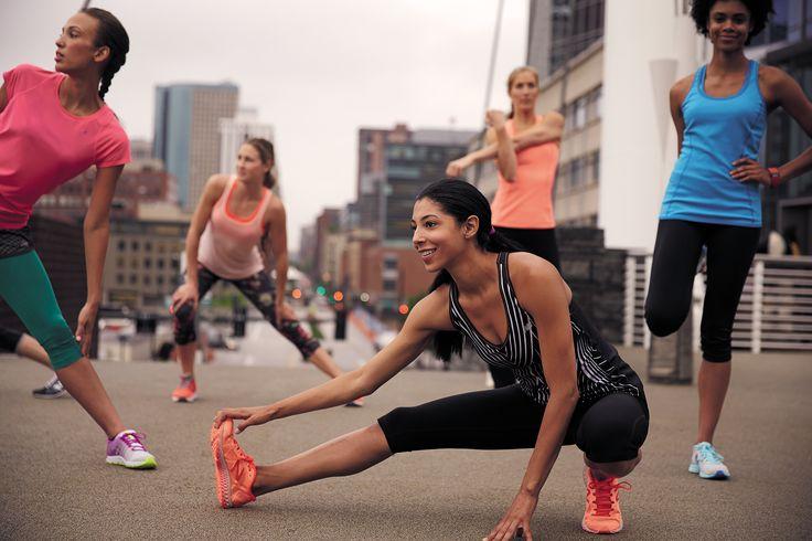 Chwila na małą rozgrzewkę przed biegiem. #SeeMyRun #rozgrzewka #trening #bieganie