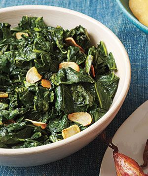Sautéed Collard Greens and Garlic    Just made these! They were delicious! A different way to cook than what I had been doing!