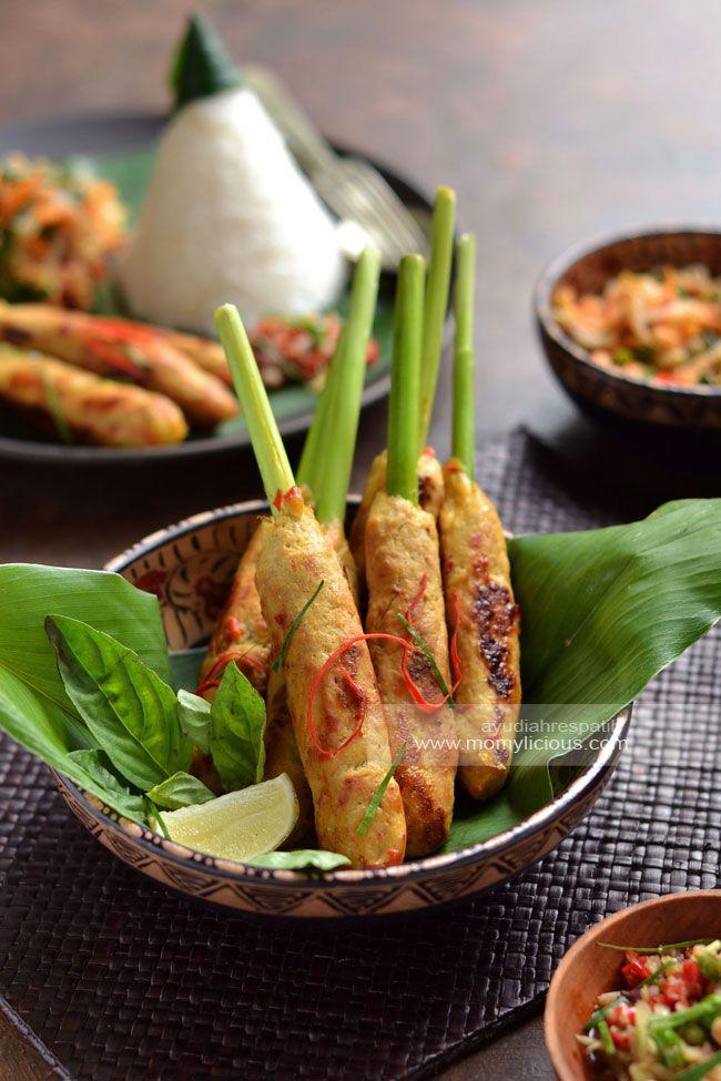 Sate Lilit Bali Sate Lilit Ayam Fotografi Makanan Resep Masakan Indonesia Resep Makanan