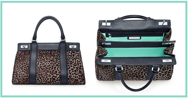 Tiffany's satchel...