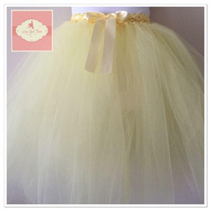Lemon  3/4 tutu skirt  Available on the website  www.loveyoututu.com.au
