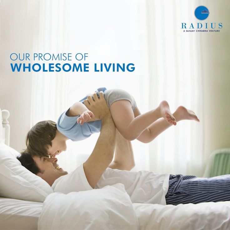 #comfort is when your #lovedOnes are always close by. At #Radius, we stay #true to our #promise of #wholesome living
