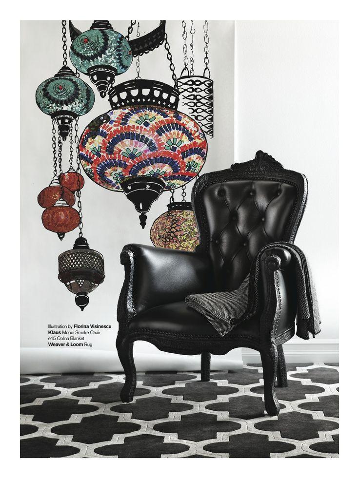 Weaver & Loom featured in Chloe Magazine - Open To Interpretation
