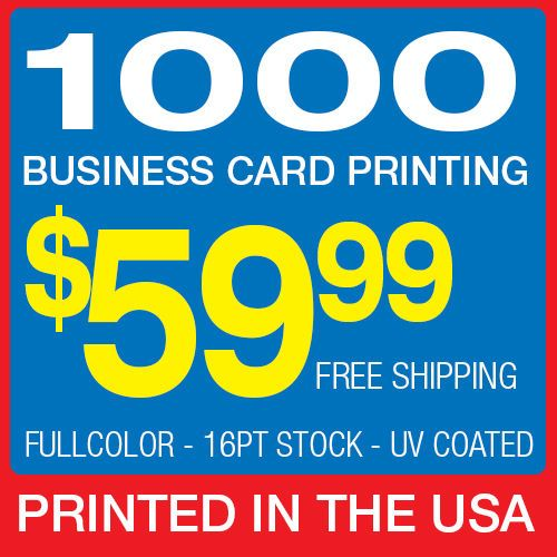70 best printing on ebay images on pinterest printing process 1000 business card printing custom 16pt glossy uv coated wajeb Gallery