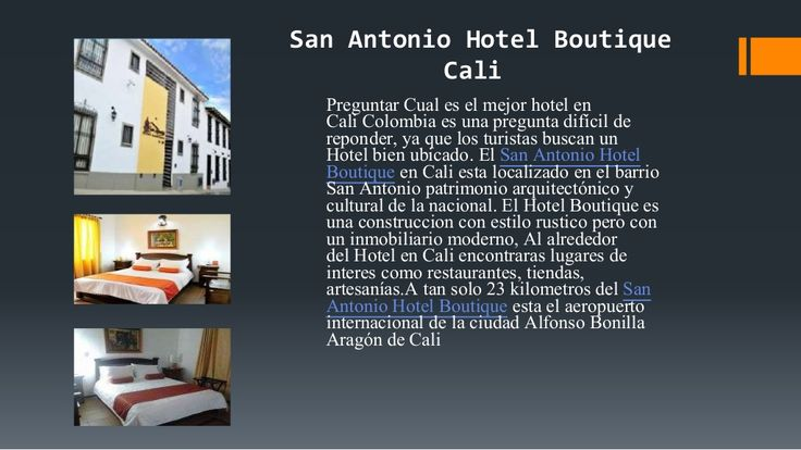Disfruta San antonio Hotel Boutique Cali Colombia Hoteles by Hotel Boutique San Antonio Cali via slideshare
