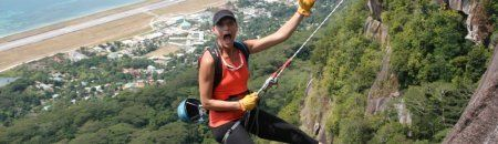 Abseiling seychelles activities