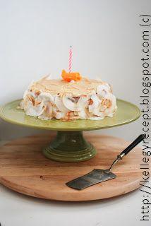Mandy kertje és konyhája: Olasz karamellkrémes torta