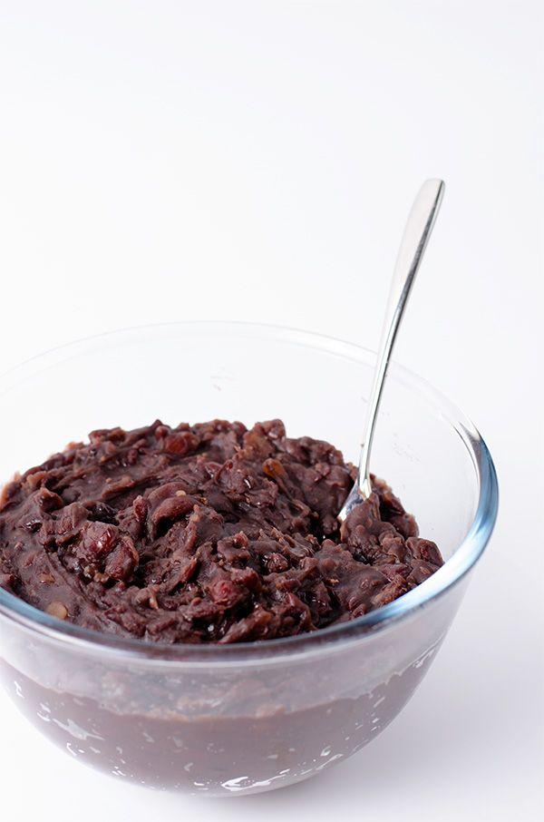 How to make red bean paste   Omnivore's Cookbook
