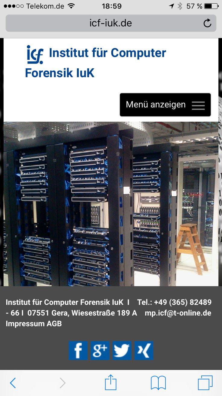 #responsive #webdesign #mobil #icf #gera #datenrettung #forensik www.icf-iuk.de