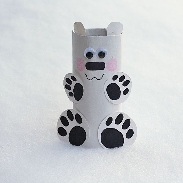 As you already know from seeing most of my kid's crafts here on the blog, I love to create with cardboard tubes. This little polar bear that I made for Spoonful is so cute and looks like he's begging for a hug! I've made it easy by providing a printable pattern and by using paperRead More »