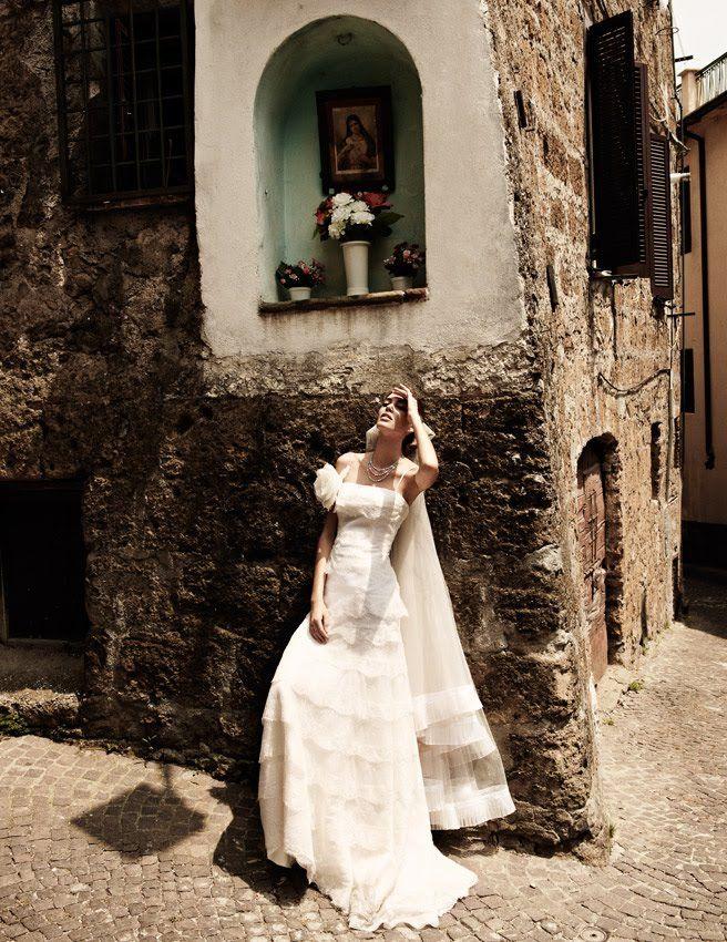 """Life in pics: Editorials: """"Italian Wedding"""" by David Burton"""