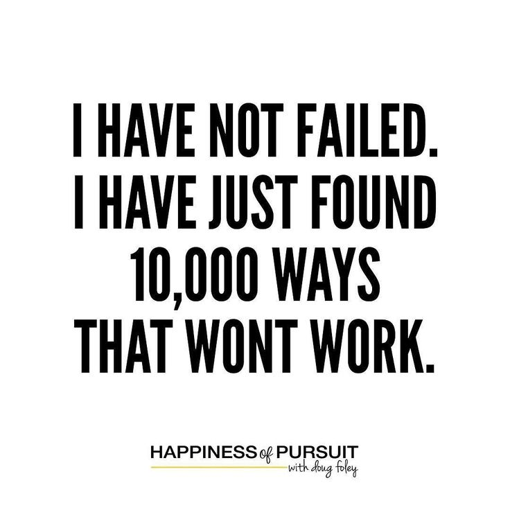 I have not failed. I've just found 10000 ways that won't work. - Thomas Edison  #motivation #entrepreneur #growth . When you walk in to a room (or if you into IOT and your home automated) likely the first thing you do is turn on a light. . Believe it or not that wasnt always the case and we have Thomas Edison and 10000 experiments to thank. . We have all failed at something but that is simply because we gave up! We packed it in! . And you know what thats ok!! . One of the biggest lessons I…