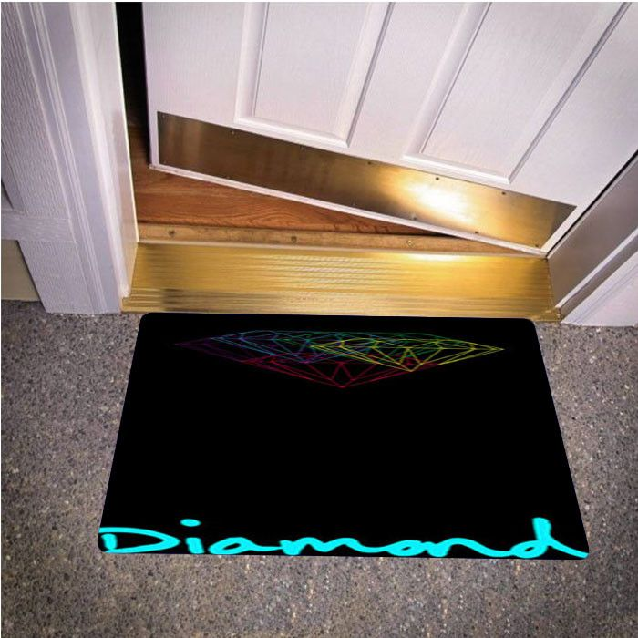 DIAMOND SUPPLY CO BEDROOM CARPET BATH OR DOORMATS