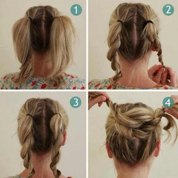 20 Easy Hairstyles For Lazy Girls To Rock Easy Hairstyles Nurse Hairstyles Medium Hair Styles