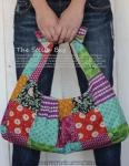"""The """"Stella"""" bag.  That meant I just had to pin it!  Plus, it's really cute. Pattern by ithinksew.Crafts Ideas, Sewing Projects, Stella Bags, Patchwork Bags"""