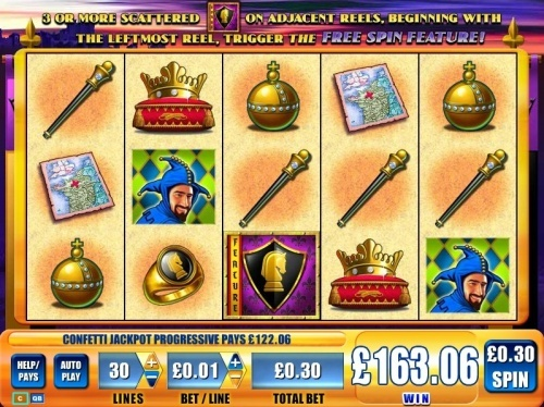 Confetti progressive jackpot on WMS online slot Black Knight with  0.30£ bet. Total Win 163£! You can find hundreds of Big Win pictures and more videos here: http://www.bigwinpictures.com