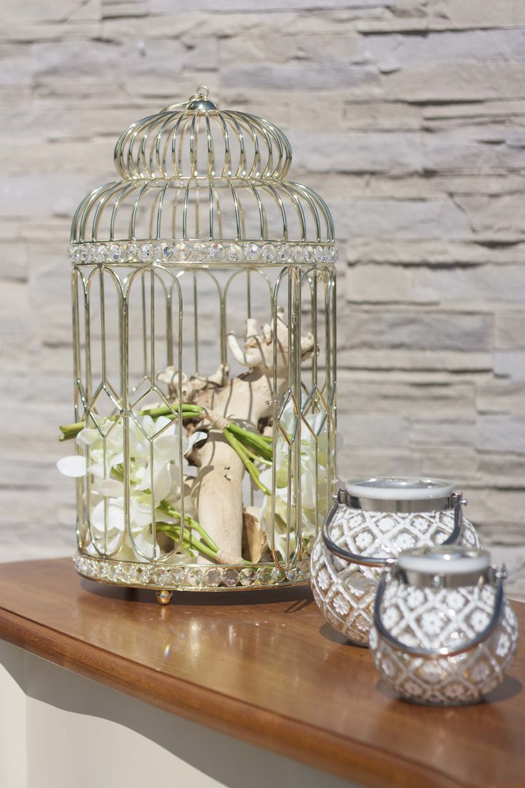Birdcage #RealClassic #GreenApple #GAhomestyle #homestyle #decoration #gold #crystal #iron #birdcage