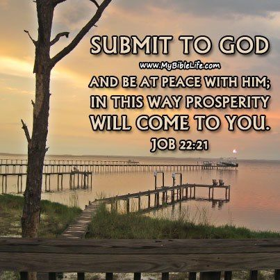 SUBMIT TO GOD   Bible ...