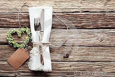 Heart Shaped Wedding Wreath At Rustic Table Setting - Download From Over 60 Million High Quality Stock Photos, Images, Vectors. Sign up for FREE today. Image: 62233058